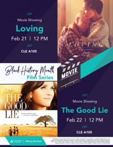 Black History Month Film Series - The Good Lie @ South Texas College Mid-Valley Campus CLE A-105 | Weslaco | Texas | United States