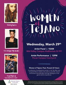 Women in Tejano: Past, Present & Future @ South Texas College Mid-Valley Campus | Weslaco | Texas | United States