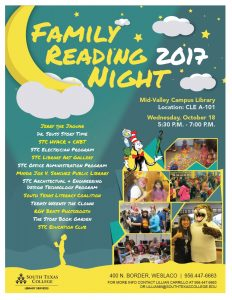 Family Reading Night @ South Texas College Mid-Valley Campus Library CLE A-101 | Weslaco | Texas | United States