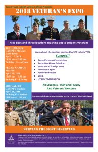 2018 Veterans Expo @ South Texas College Pecan Campus Library | McAllen | Texas | United States