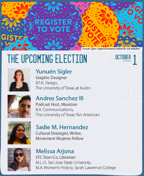 Civic Engagement Panel Poster