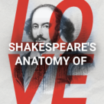 Logo with image of Shakespeare and the title of the event.