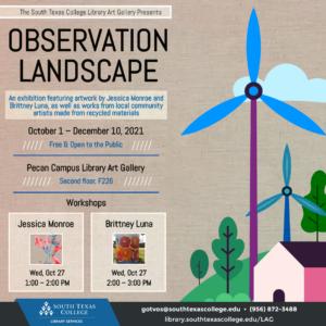 Observation Landscape Flier