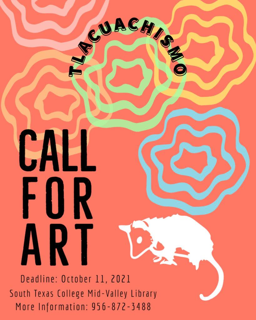 call for art flyer